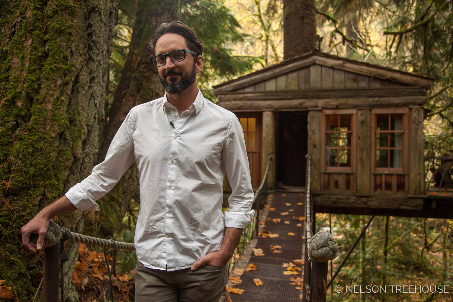 Daniel Ash - Architect with Nelson Treehouse and Supply