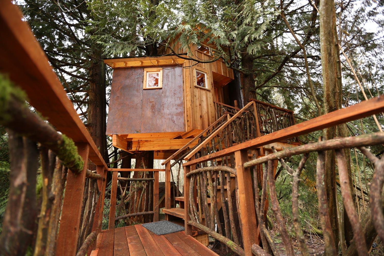 Nelson treehouse recording studio